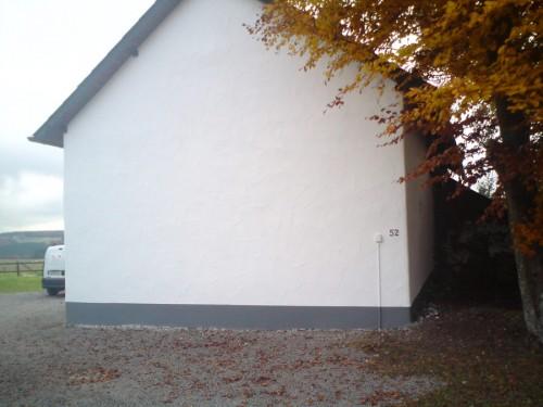 Außenputz Bauernhaus