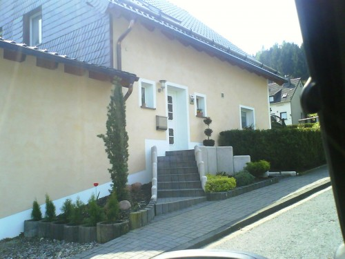 Außenputz Haus Toscana